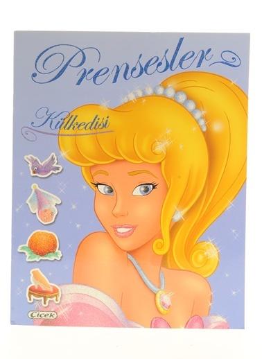 Prensesler Pırıltılı Çıkartmalar-Külkedisi-Çiçek Yayıncılık